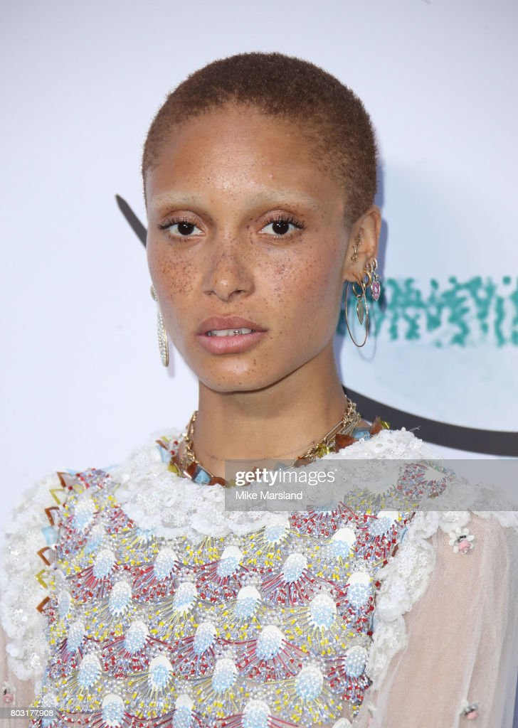 Adwoa Aboah attends The Serpentine Galleries Summer Party at The Serpentine Gallery on June 28, 2017 in London, England.