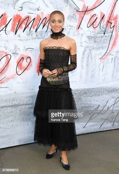 Adwoa Aboah attends the Serpentine Gallery Summer Party at The Serpentine Gallery on June 19 2018 in London England