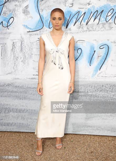 Adwoa Aboah attends The Summer Party 2019 Presented By Serpentine Galleries And Chanel at The Serpentine Gallery on June 25 2019 in London England