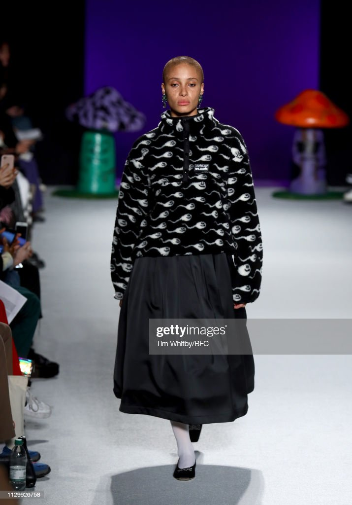 GBR: Ashley Williams - Runway - LFW February 2019