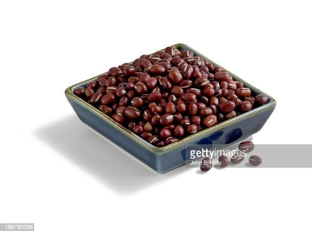 Adzuki bean on white
