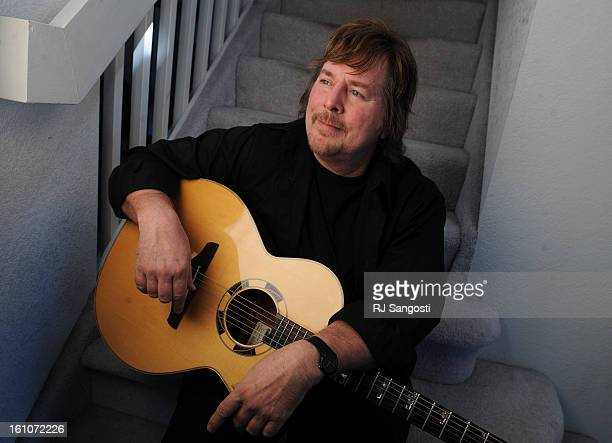 AE06MUFIREFALL28Jock Bartley of the group Firefall which is playing a reunion show in a couple weeks at the Boulder Theater hangs out at his home in...
