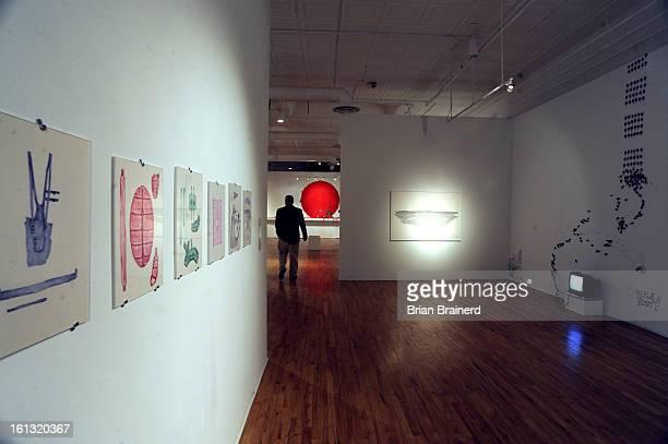ae21faart_bb_1 Artists Carlos Capelan Maximo Gonzalez Mauro Ariel Koliva Lucas Monaco Ricardo Rendn are featured at Museo de las Americas Fine Line...