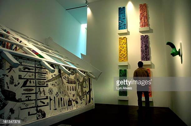 The Museum of Contemporary Art is located at the corner of 15th Street and Delgany in downtown Denver. The work of MCA's Artist in Residence Rangi...