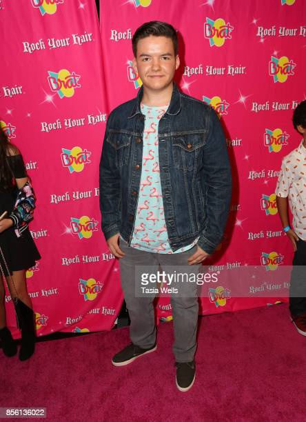 Aedin Mincks at Rock Your Hair Presents Rock Back to School Concert Party on September 30 2017 in Los Angeles California