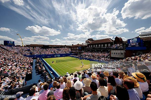 2009 Aegon Tennis Championships Queens Club London UK Final Andy Murray GBR v James Blake USA Murray won 75 64