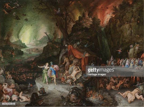 Aeneas and the Sibyl in the Underworld 1598 Private Collection Artist Brueghel Jan the Elder