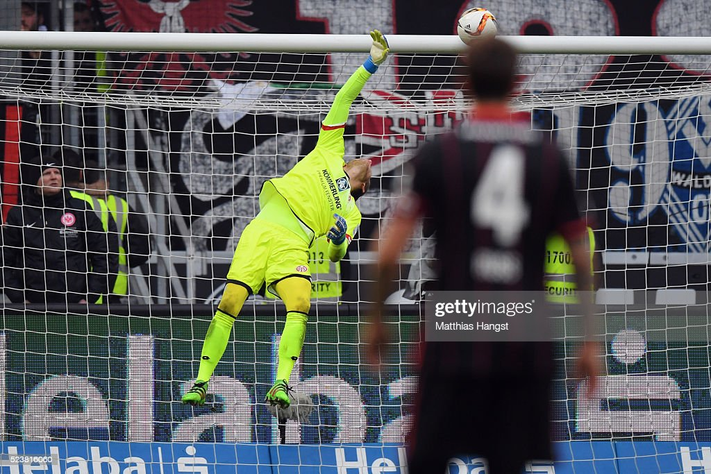 Eintracht Frankfurt v 1. FSV Mainz 05 - Bundesliga : News Photo
