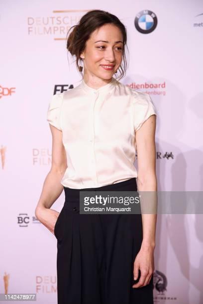 Aenne Schwarz attends the nominee dinner for the German Film Award 2019 Lola at BMW Niederlassung Berlin on April 13 2019 in Berlin Germany