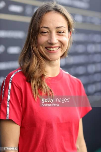 Aenne Schwarz attends the Waren einmal Revoluzzer photo call during the 15th Zurich Film Festival at Kino Corso on September 29 2019 in Zurich...