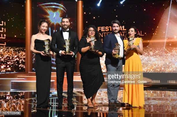 Aenne Schwarz awarded of best performance by an actress Nidhal Saadi awarded Best performance by an actor Sudabeh Mortezai winner of Etoile D'or...