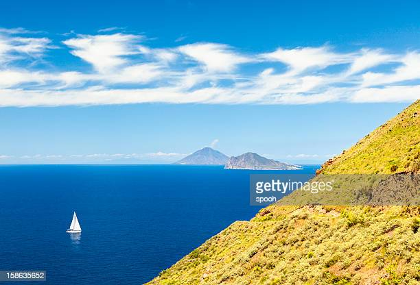 aeolian islands - aeolian islands stock pictures, royalty-free photos & images