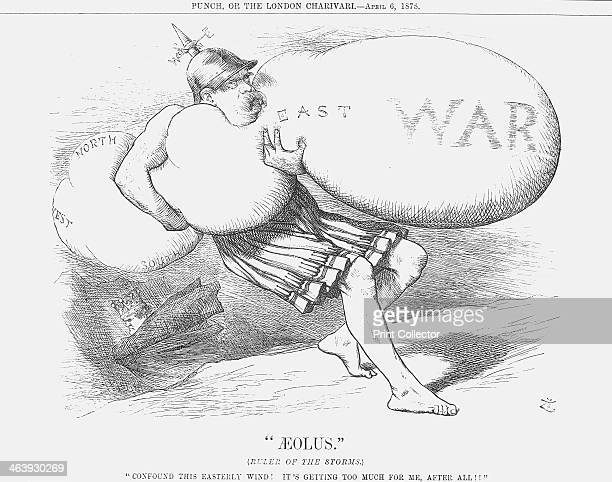 Aeolus 1878 This cartoon depicts Bismarck After the Treaty of San Stefano had been signed to agree terms for peace between Turkey and Russia Britain...