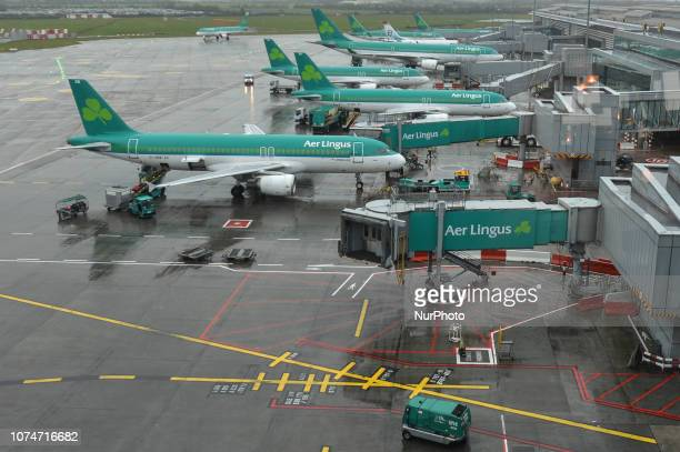 Aer Lingues planes at Dublin airport Dublin Airport will have its busiest Christmas season on record this year as just over 11 million people are...