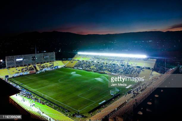 Aereal view of the stadium during the Final second leg match between Alebrijes de Oaxaca and Zacatepec as part of the Torneo Apertura 2019 Ascenso MX...