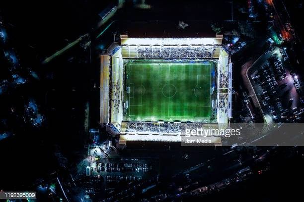 Aereal view of the stadium prior to the Final second leg match between Alebrijes de Oaxaca and Zacatepec as part of the Torneo Apertura 2019 Ascenso...