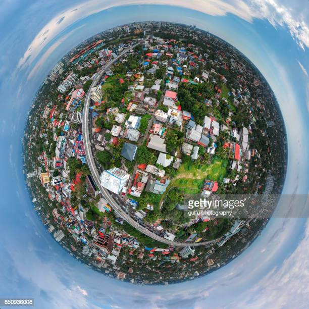 aerial 360 cochin city - kochi india stock pictures, royalty-free photos & images