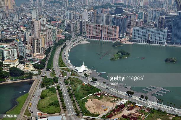 Aerial / Bird's Eye view of Macau