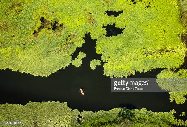 Aerial Capture of Kayak in Crams Farm Reserve
