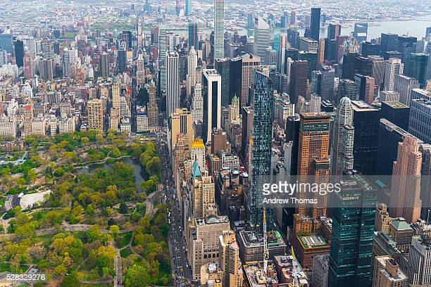 Aerial central park south
