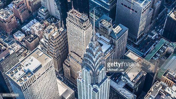 Aerial Chrysler Building