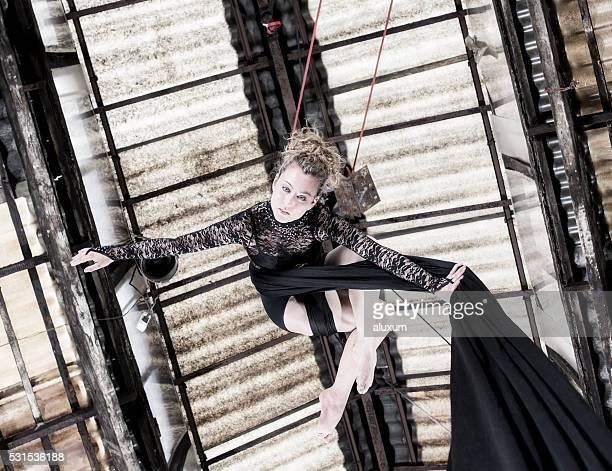 Luftaufnahme-Tänzer