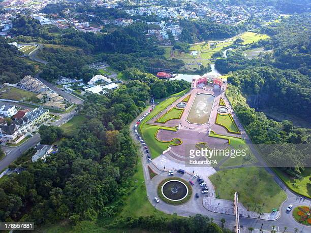 aerial image of curitiba - paraná - curitiba stock pictures, royalty-free photos & images