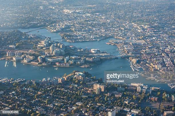 Aerial Image of Victoria Harbour, British Columbia, Canada