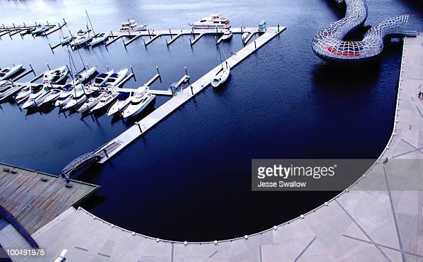 Aerial Marina View