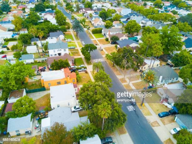 Aerial of a Neighborhood