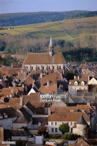 Aerial of Burgundy