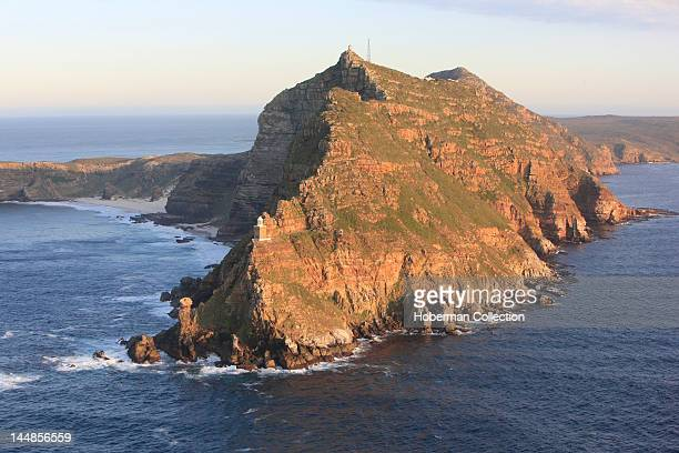 Aerial of Cape Point, situated in the Table Mountain National Park, Cape Town, South Africa
