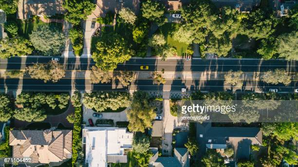 aerial of community - torrance stock pictures, royalty-free photos & images