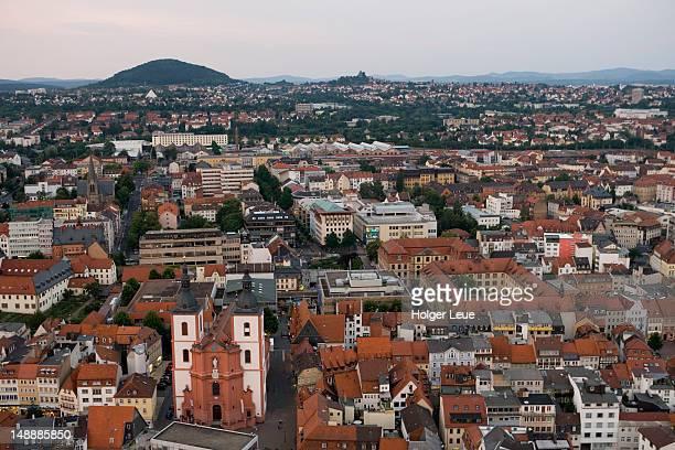 Aerial of Fulda.