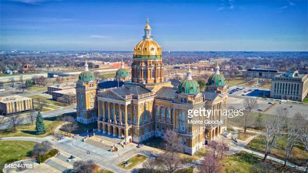 Aerial Of Iowa Capital March 4 2017