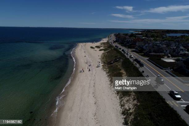 aerial of martha's vineyard in early summer - martha champlin stock pictures, royalty-free photos & images