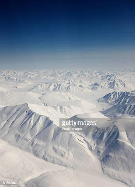 Aerial of Mountains, Siberia