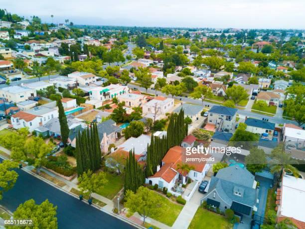 Aerial of Neighborhood