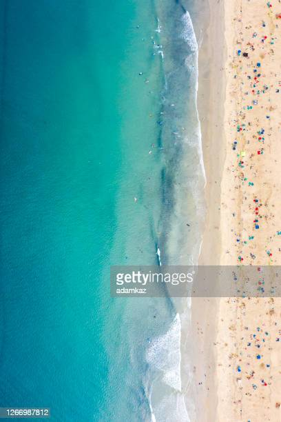aerial of newport beach - southern california stock pictures, royalty-free photos & images