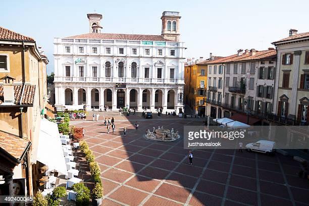 Vue aérienne de la Piazza Vecchia