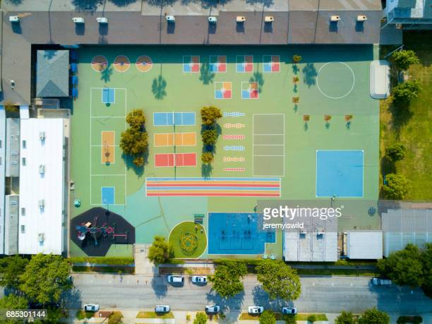 Aerial of Playground