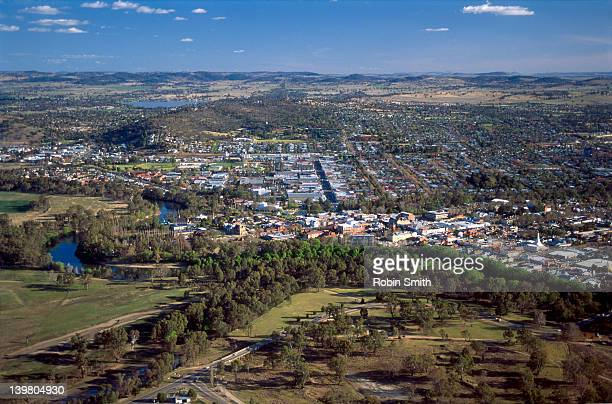 aerial of wagga wagga,nsw - wagga wagga stock pictures, royalty-free photos & images
