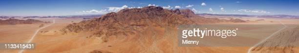 Aerial Panorama Sesriem Namib-Naukluft Park Sossusvlei Nambia