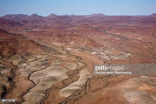 Aerial photo, Damaraland, Namibia, Africa