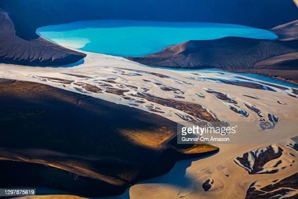 aerial photo iceland - gunnar örn árnason stock pictures, royalty-free photos & images