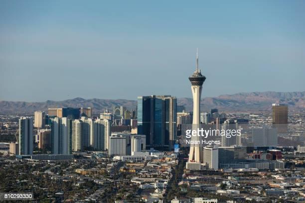 Aerial photo of Las Vegas North looking South