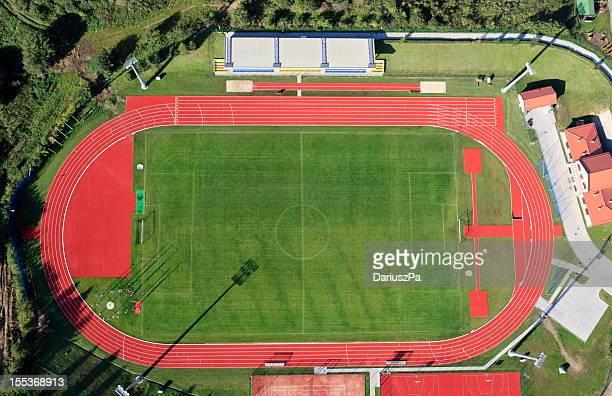 Aerial photo of Stadium in Gniewino