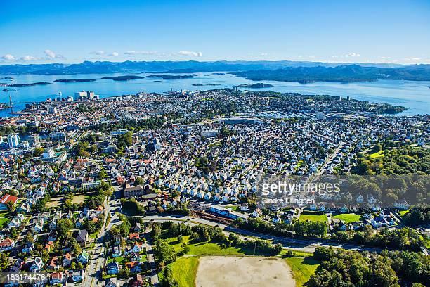 Aerial photo of Stavanger