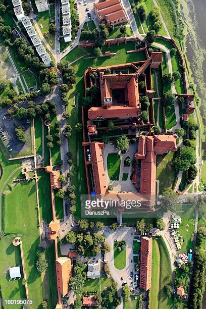 Aerial photo of the Teutonic castle