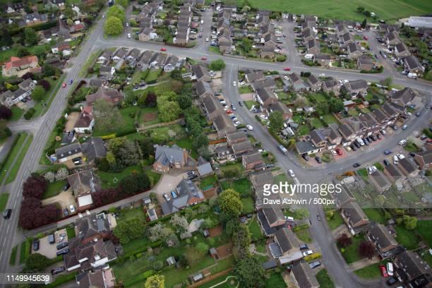 Aerial Photograph Northamptonshire Earls Barton